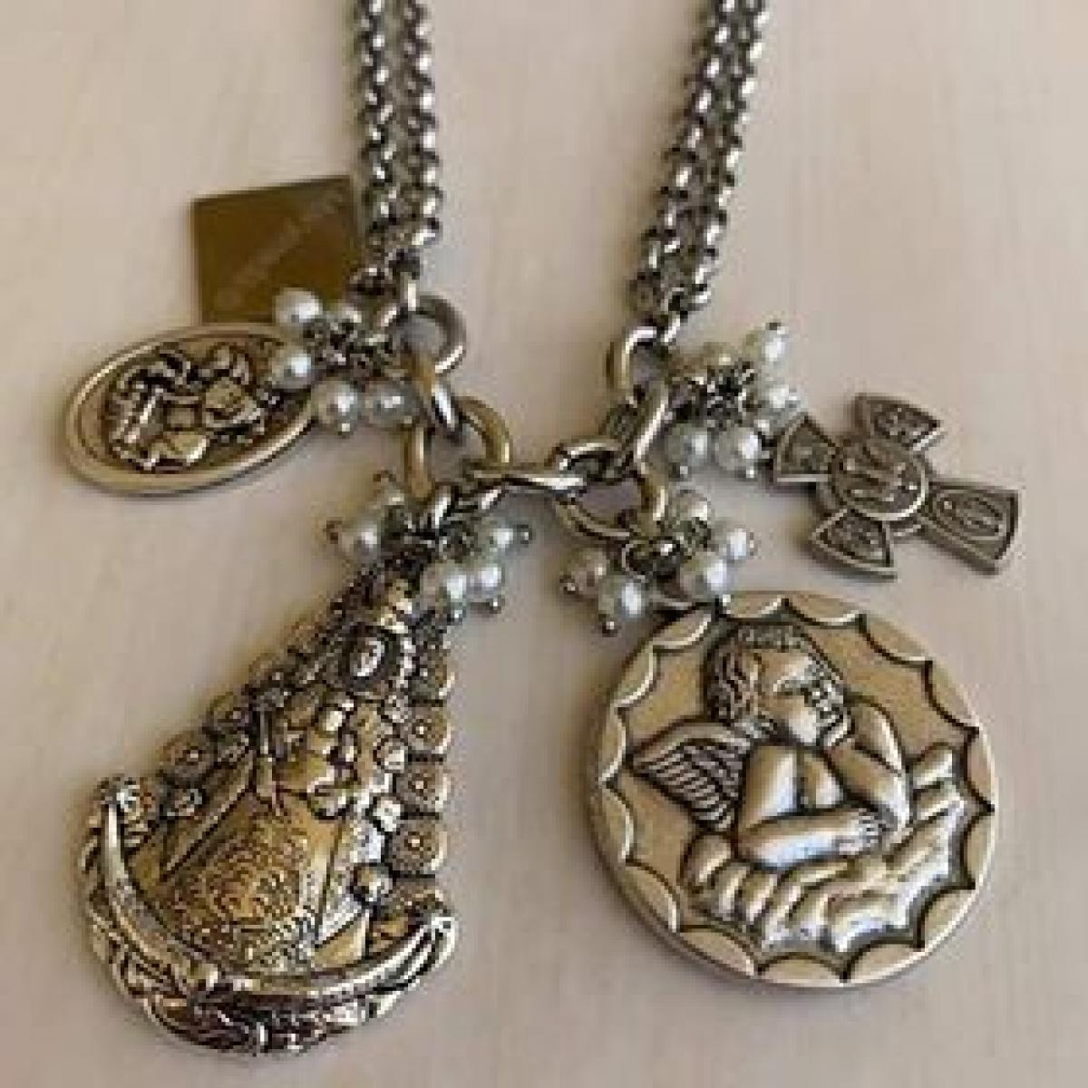 Fio Promessa /oração Aço Inoxidável - Marymada®